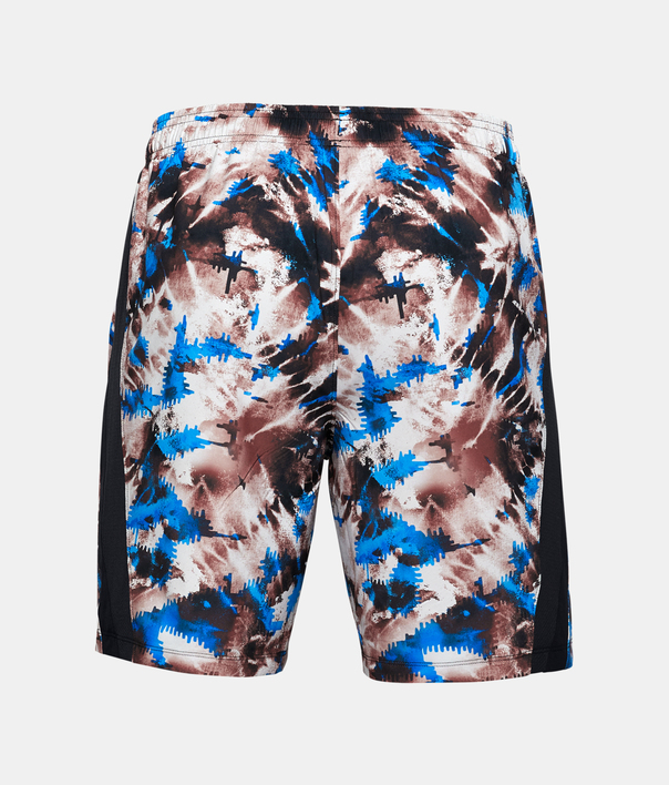 Kraťasy Under Armour UA LAUNCH SW 7'' PRINTED SHORT-RED (4)