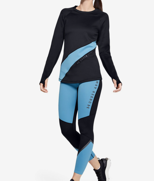 Tričko Under Armour Cg Ls Graphic-Blk (5)