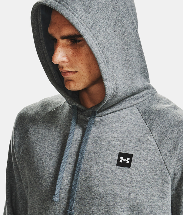 Mikina Under Armour UA Rival Fleece Hoodie-GRY (6)