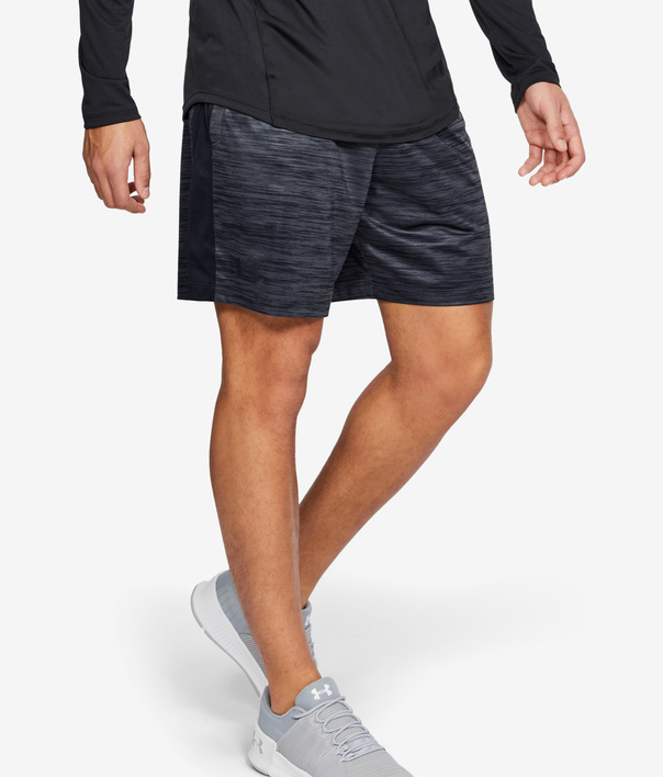 Kraťasy Under Armour UA MK-1 7in Twist Shorts-BLK (1)