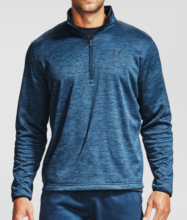 Mikina Under Armour Armour Fleece 1/2 ZIP-NVY (1)