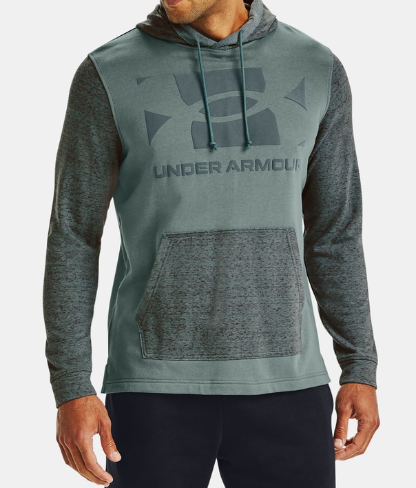 Mikina Under Armour UA Sportstyle Terry KO HD-BLU (3)