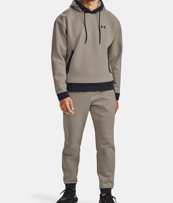 Mikina Under Armour Recover Fleece Hoodie-BRN (6)