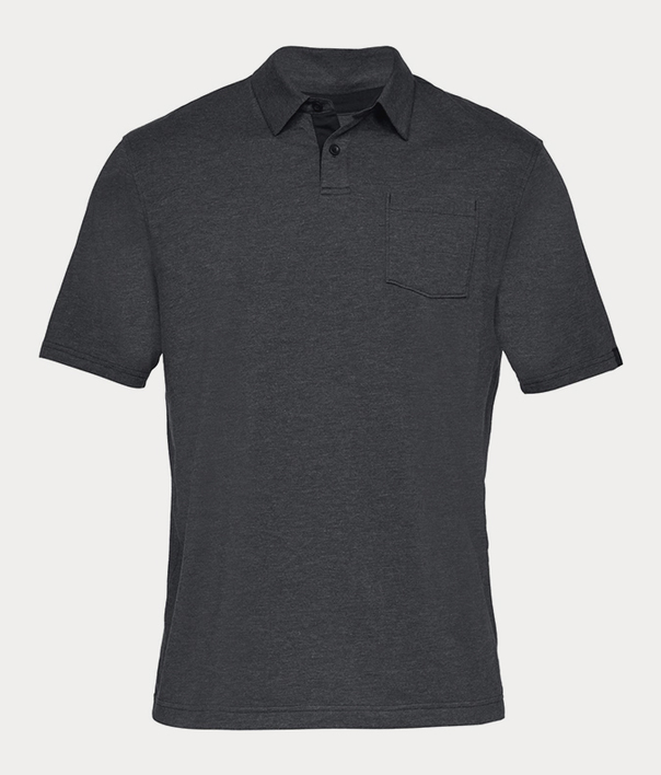 Tričko Under Armour CC Scramble Polo-BLK (3)