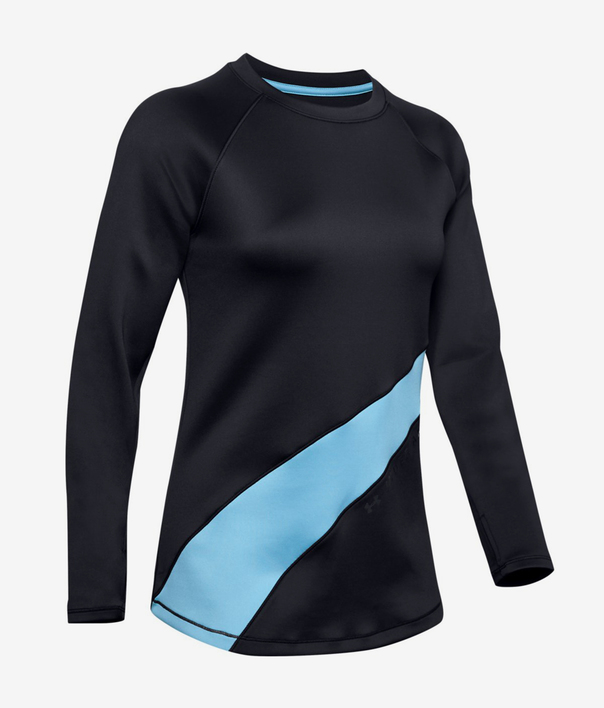 Tričko Under Armour Cg Ls Graphic-Blk (3)