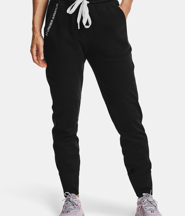 Nohavice Under Armour Recover Fleece Pants-BLK (1)