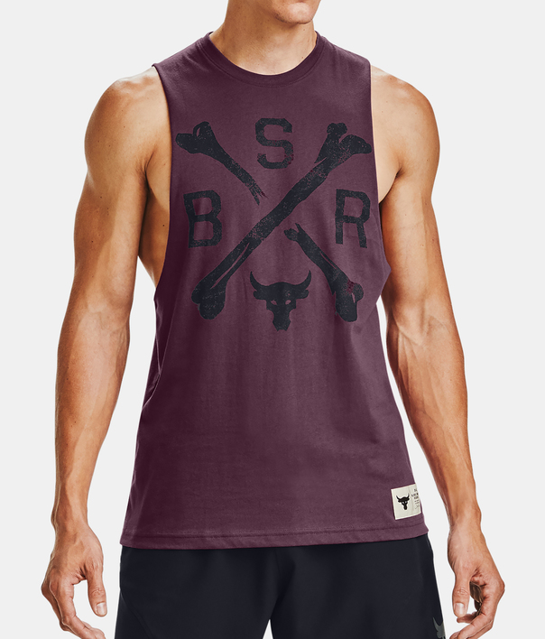 Tielko Under Armour PROJECT ROCK BSR TANK (1)
