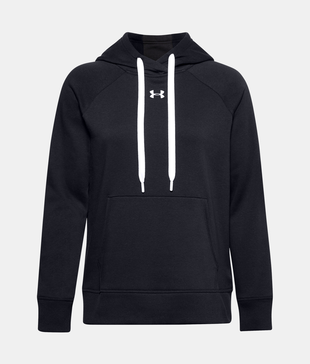 Mikina Under Armour Rival Fleece HB Hoodie-BLK (1)