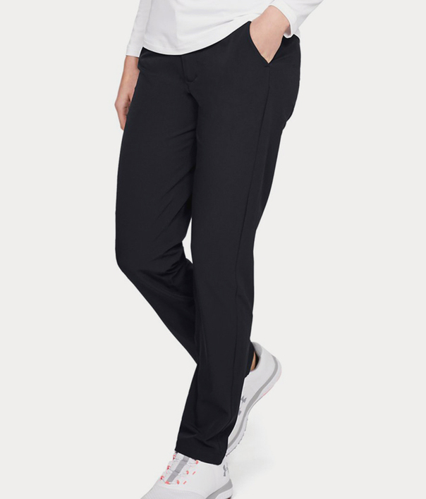 Nohavice Under Armour Links Pant-BLK (1)