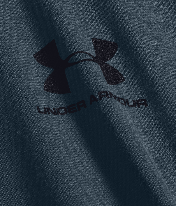 Tričko Under Armour SPORTSTYLE LEFT CHEST LS-BLU (5)