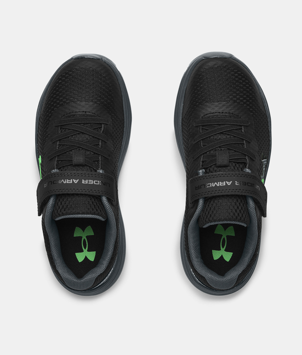 Topánky Under Armour PS Surge 2 AC-BLK (5)