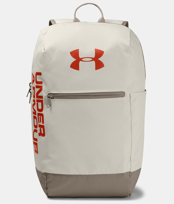 Batoh Under Armour UA Patterson Backpack-WHT (1)
