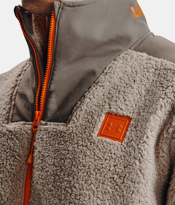 Bunda Under Armour LEGACY SHERPA SWACKET-BRN (5)