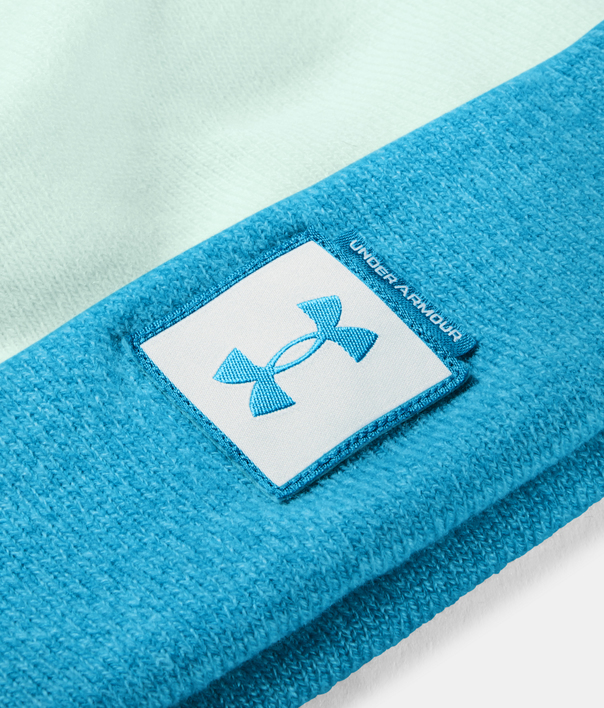 Čapica Under Armour UA Big Pom Logo Beanie-BLU (2)