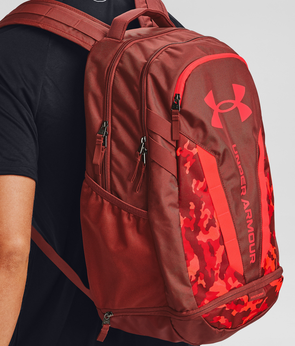 Batoh Under Armour UA Hustle 5.0 Backpack-RED (7)