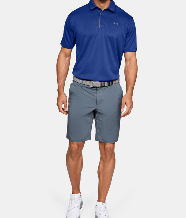 Tričko Under Armour Tech Polo-BLU (6)