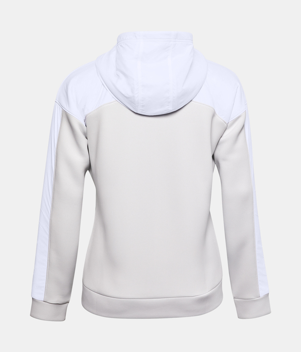 Mikina Under Armour Move FZ Hoodie-WHT (2)