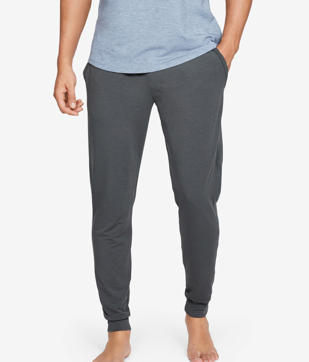 Tepláky Under Armour Recovery Sleepwear Jogger-Gry (1)