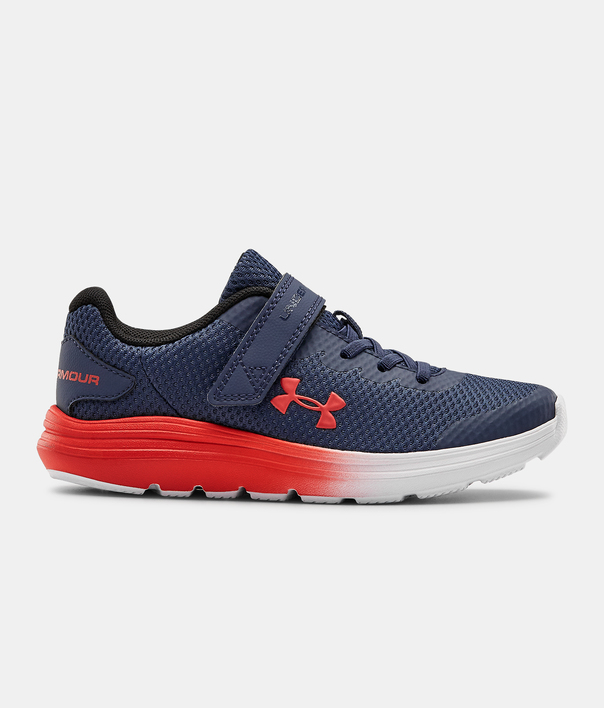 Topánky Under Armour  PS Surge 2 AC-BLU (1)