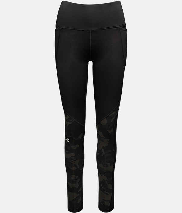 Legíny Under Armour UA CG Armour Camo Legging-BLK (1)