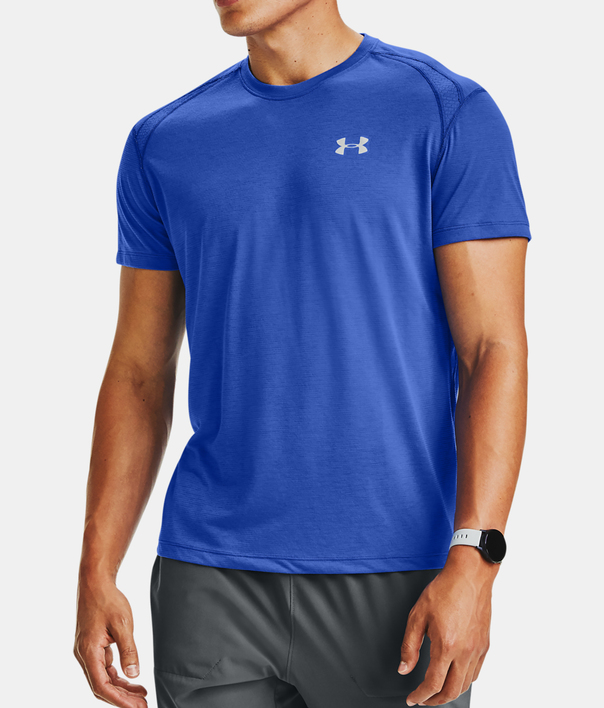 Tričko Under Armour STREAKER 2.0 SHORTSLEEVE-BLU (1)