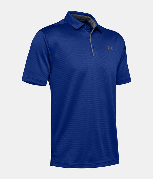 Tričko Under Armour Tech Polo-BLU (3)
