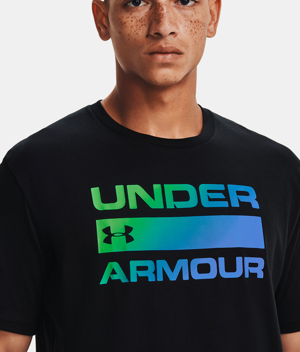 Tričko Under Armour UA TEAM ISSUE WORDMARK SS-BLK (3)