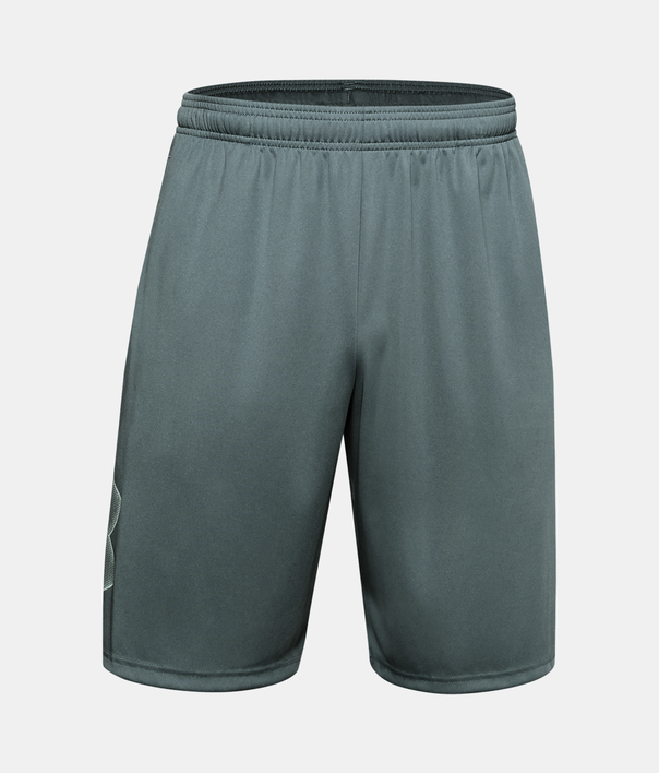 Kraťasy Under Armour UA TECH GRAPHIC SHORT-BLU (1)