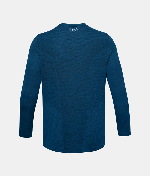 Tričko Under Armour UA Seamless LS-BLU (2)
