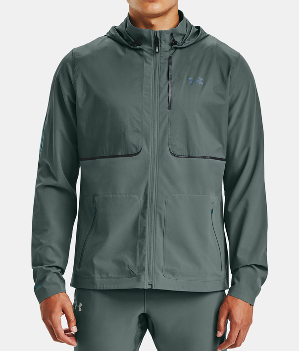 Bunda Under Armour UA Q. STORM Speedpocket Jkt-BLU (1)