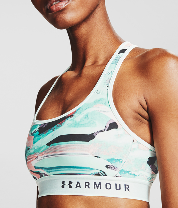 Podprsenka Under Armour Armour Mid Crossback Printed Bra -BLU (5)