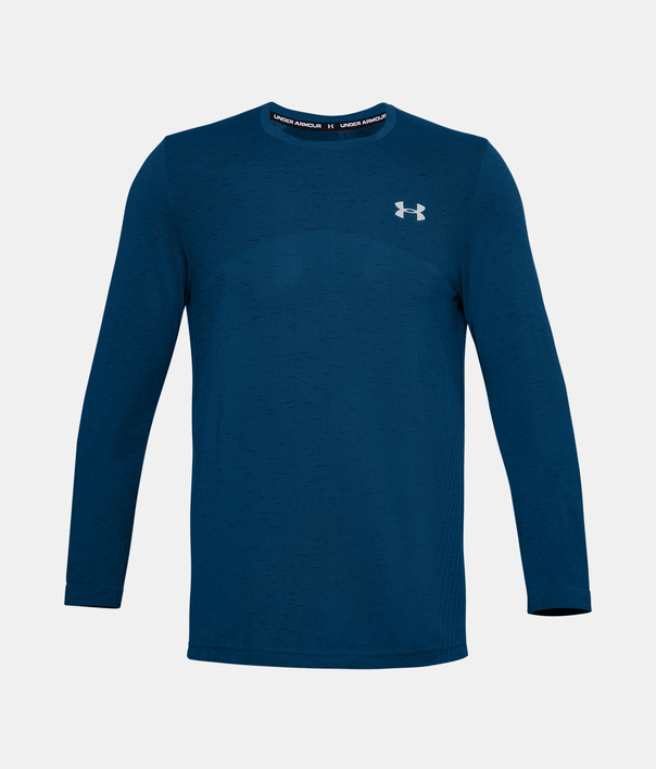 Tričko Under Armour UA Seamless LS-BLU (1)