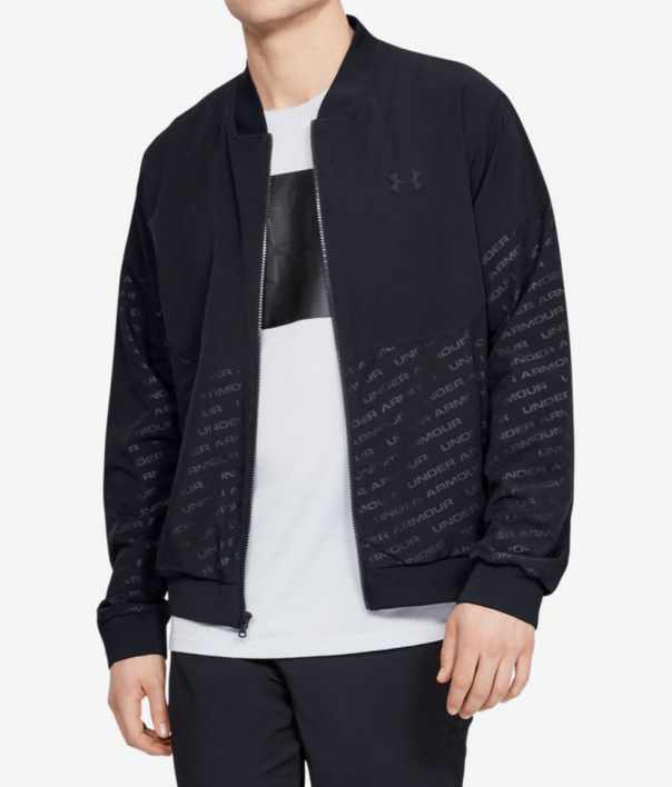 Bunda Under Armour Unstoppable Emboss Bomber-Blk (1)