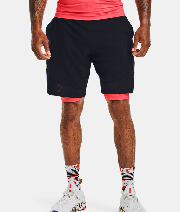 Kraťasy Under Armour Kazoku Vanish Woven Short (1)