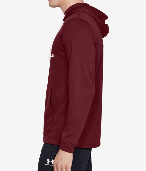 Mikina Under Armour SPORTSTYLE TERRY LOGO HOODIE-RED (3)