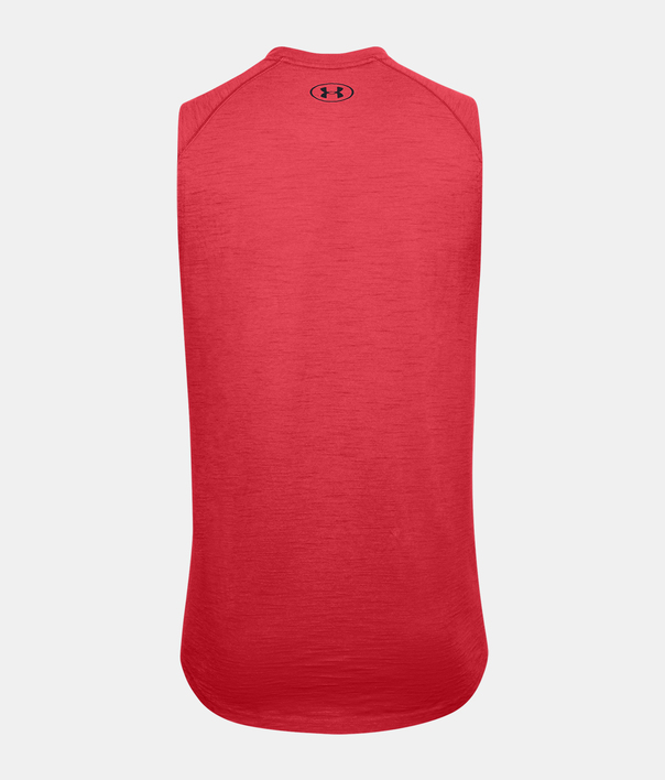 Tielko Under Armour UA Charged Cotton Tank-RED (2)