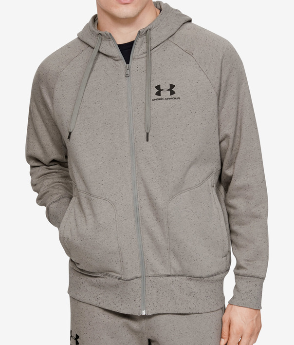 Mikina Under Armour Speckled Fleece Fz Hoodie (1)