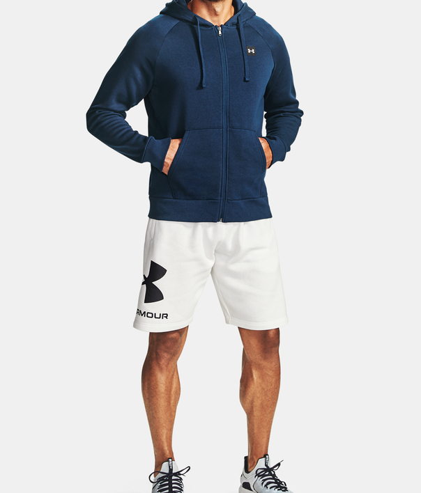 Mikina Under Armour UA Rival Fleece FZ Hoodie-NVY (3)