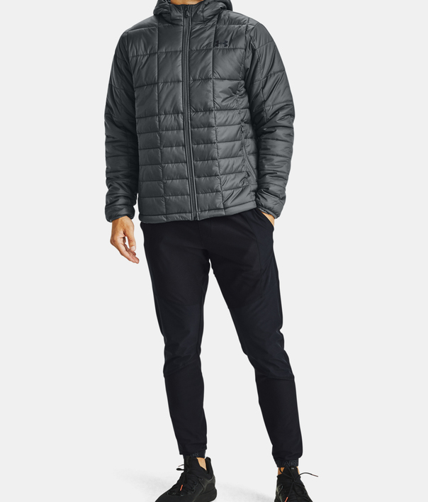 Bunda Under Armour UA Armour Insulated Hooded Jkt-GRY (7)