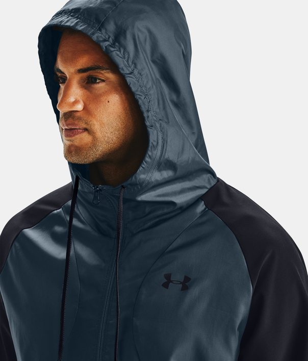 Bunda Under Armour STRETCH-WOVEN HOODED JACKET-BLK (3)