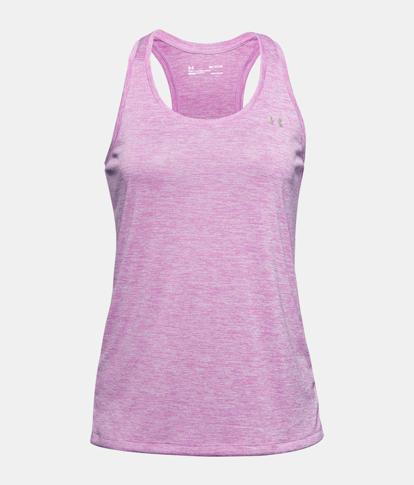 Tielko Under Armour Tech Tank - Twist-PPL (1)