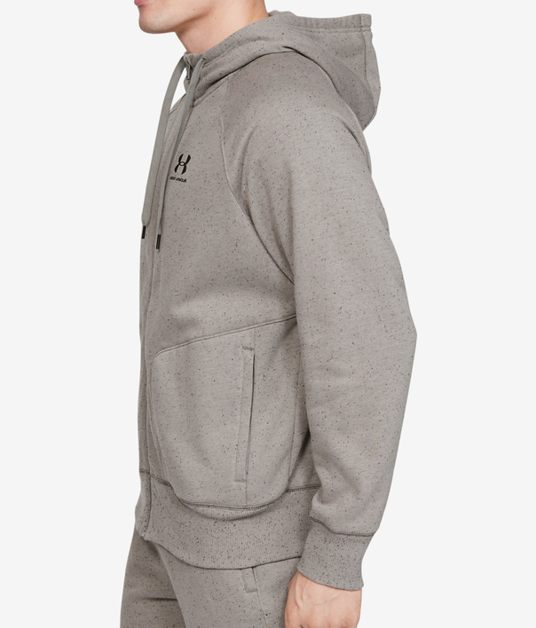 Mikina Under Armour Speckled Fleece Fz Hoodie (3)
