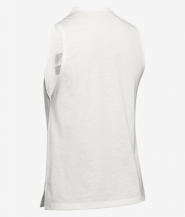 Tielko Under Armour GRAPHIC BOX SCRIPT MUSCLE TANK-WHT (4)