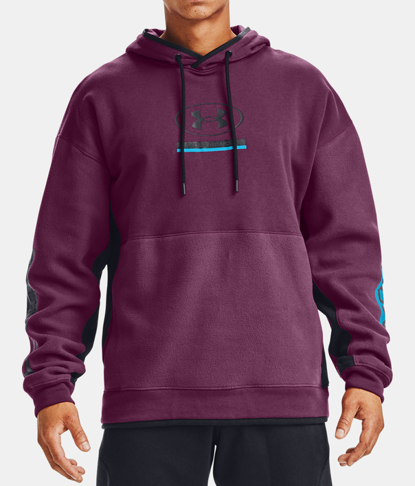 Mikina Under Armour UA 12/1 Pack Hoodie-PPL (1)