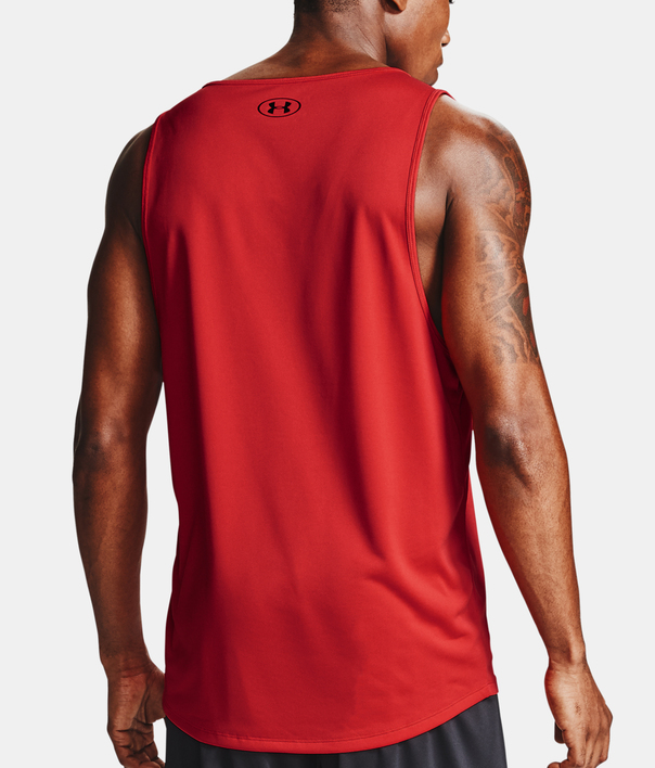 Tielko Under Armour Tech 2.0 Tank-RED (2)
