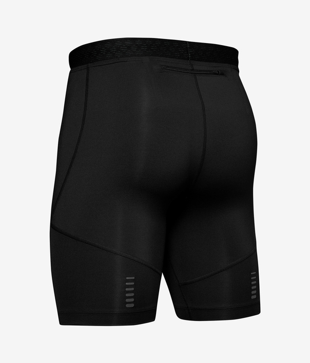 Kompresné šortky Under Armour Rush Run Half Tight-Blk (4)