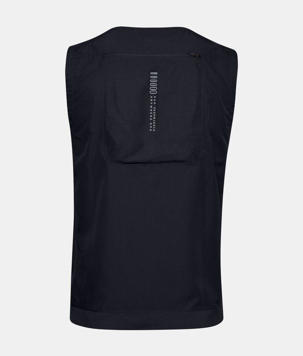 Vesta Under Armour M UA Run Anywhere Vest-BLK (4)