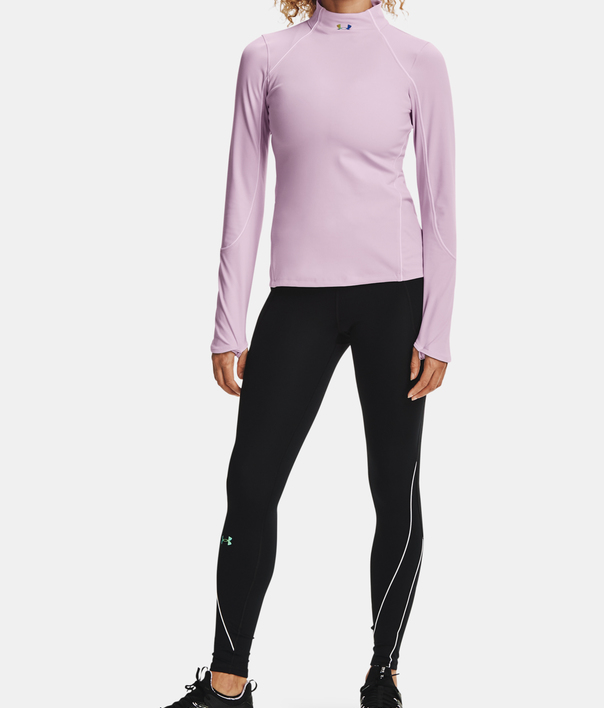 Tričko Under Armour CG Rush Jacquard Mock-PPL (7)