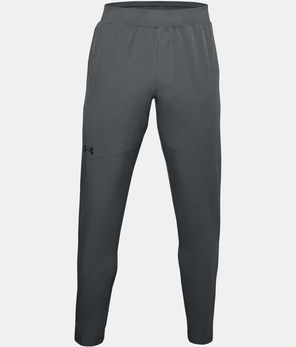 Tepláky Under Armour UA UNSTOPPABLE TAPERED PANTS-GRY (1)