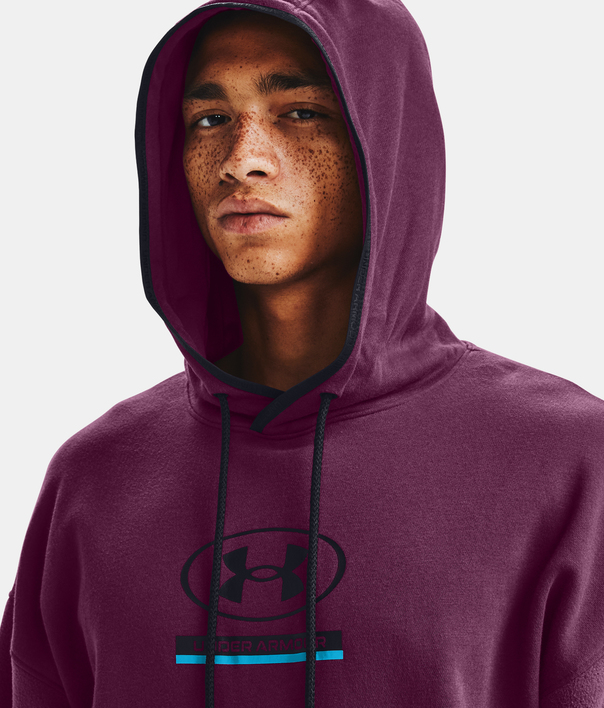 Mikina Under Armour UA 12/1 Pack Hoodie-PPL (5)